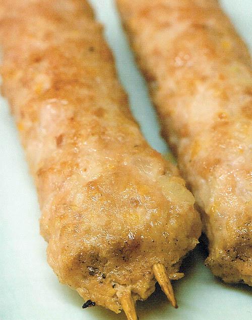 Tsukune Minced Chicken Patties Bento